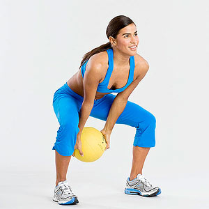Medicine Ball Swing