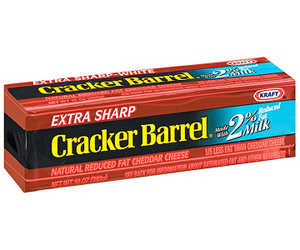 Cracker Barrel 2% Extra Sharp Cheddar Cheese