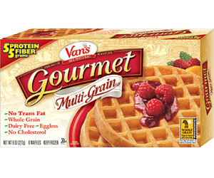 Van?s Gourmet Multi-Grain Waffles