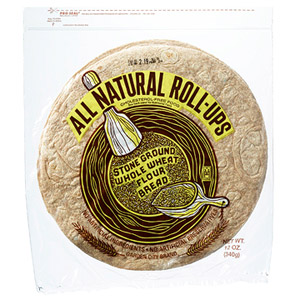 Garden City All Natural Roll-Ups Stone Ground Whole Wheat Flour