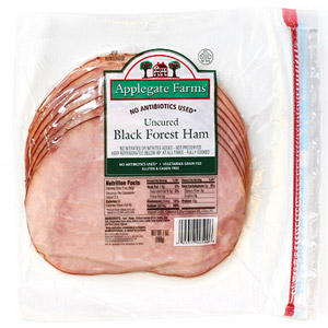 Applegate Farms Uncured Black Forest Ham