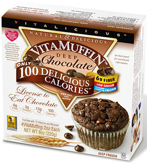 VitaMuffin Deep Chocolate Muffin