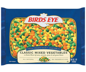 Birds Eye Classic Mixed Vegetables