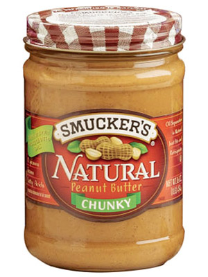 Smucker?s Natural Chunky Peanut Butter