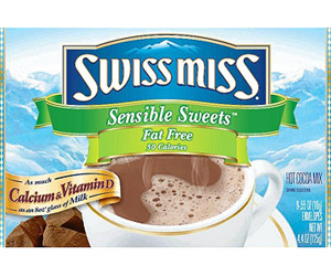 Swiss Miss Milk Chocolate Fat Free with Calcium Hot Cocoa Mix