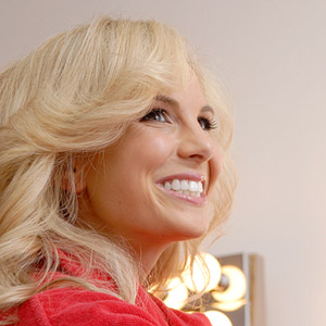 Elisabeth Hasselbeck behind the scenes