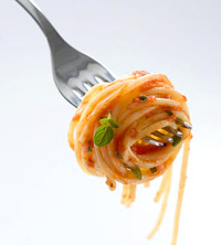 Whole-Wheat Pasta With Ripe Tomatoes, Fresh Mozzarella and Fresh Herbs