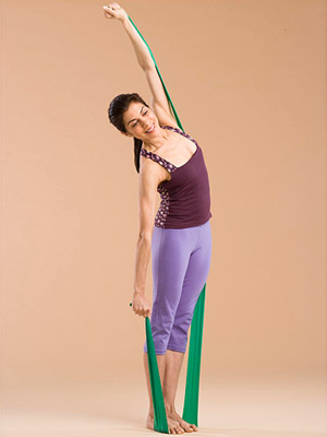 Shoulder Raise and Side Bend