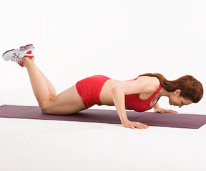 Modified In-Out Push-Up