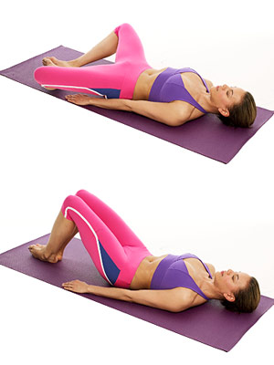 Butterfly Pose A and B