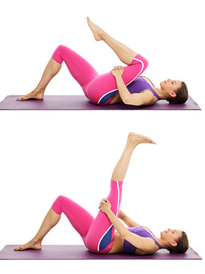 Extended Leg Pose A and B