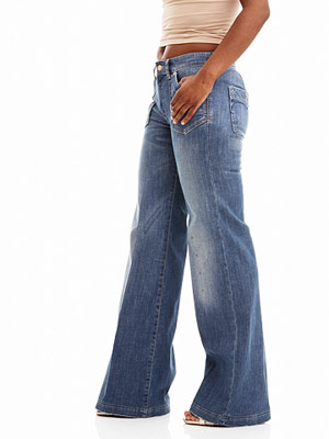 H&M Wide Leg Multi Pocket Jean