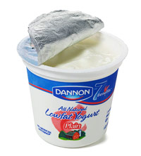 Low-fat plain yogurt