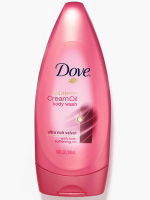 Dove Supreme Cream Oil Body Wash in Ultra Rich Velvet