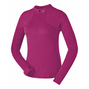 ASICS Thermopolis Lt. Half Zip in Fuschia