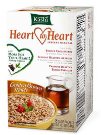 Kashi Heart to Heart Golden Brown Maple Instant Oatmeal