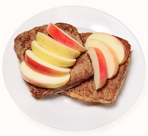 Vanilla Spice French Toast with Apple