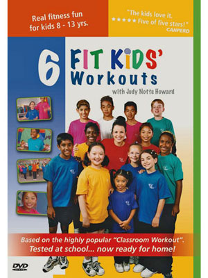 6 Fit Kids' Workouts DVD