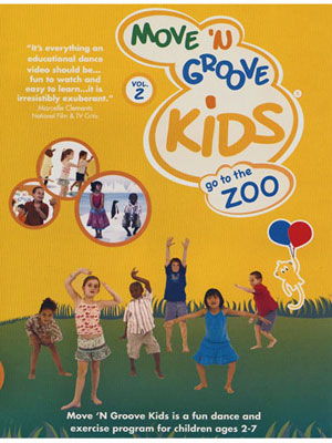 Move 'n Groove Kids Go to the Zoo Workout DVD