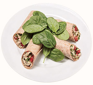 Tuscan Tuna Wrap