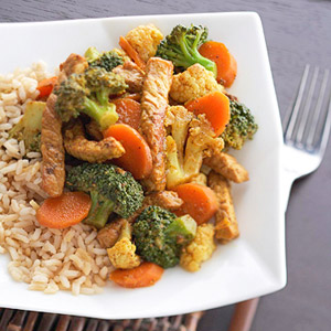Thai Pork Stir-Fry