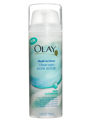Olay Dual Action Cleanser + Pore Scrub
