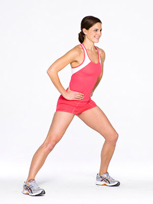 Yoga Tree/Lateral Lunge