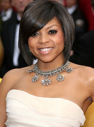 Taraji P. Henson at the 2009 Oscars