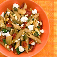 Penne With Feta and Sundried Tomatoes