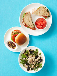 Lunch, The Flat Abs Diet
