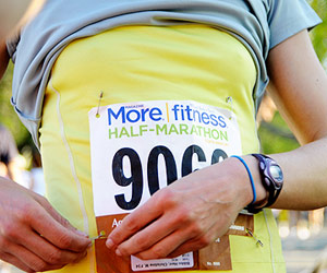 Running the More|FITNESS Half-Marathon
