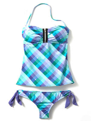 Hurley Kings Road tankini and hipster bottom