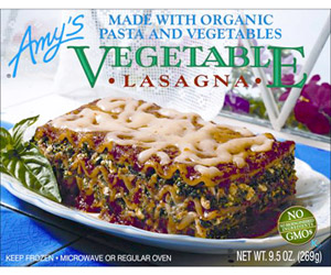 Amy?s Vegetable Lasagna