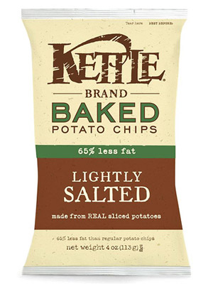 Kettle Brand Baked Lightly Salted Potato Chips