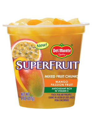 Del Monte SuperFruit Mixed Fruit Chunks