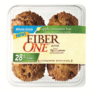 Fiber One Apple Cinnamon Bun Muffins