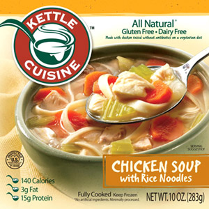 Kettle Cuisine Chicken Soup with Rice Noodles