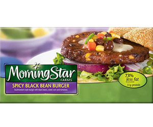 MorningStar Farms Spicy Black Bean Burger