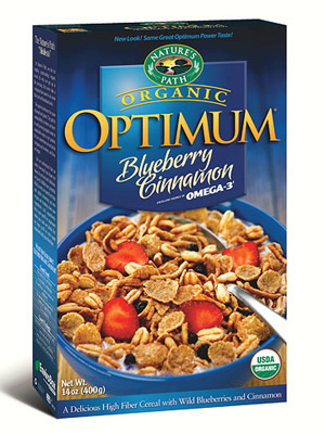 Nature's Path Optimum Blueberry Cinnamon