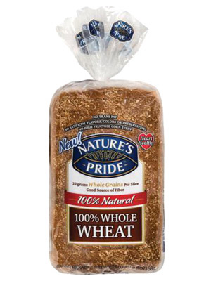Nature?s Pride 100% Whole Wheat Bread