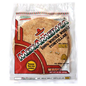 """MexAmerica 100% Whole Wheat"