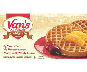 Van's All Natural Multigrain Waffles