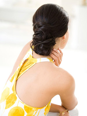 Do It Up: Easy Updo Hairstyles. Soft Chignon. Laura Doss