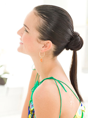 Polished Ponytail, updo hairstyles for long hair, easy updo hairstyles, updo hairstyles for short hair, updo hairstyles for medium hair, hairstyle, messy updo hairstyles, how to do updo hairstyles, easy updos