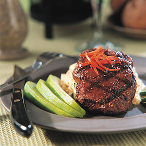 Beef Tenderloin With Adobo Paste