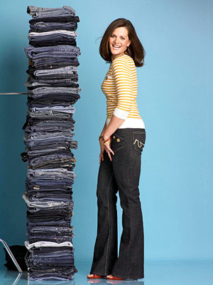 Best Jeans forFlat Butts- After