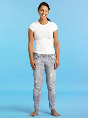 Best Jeans for Petites - Before