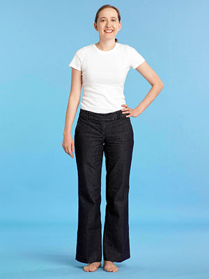 Best Jeans for Long Legs - Before