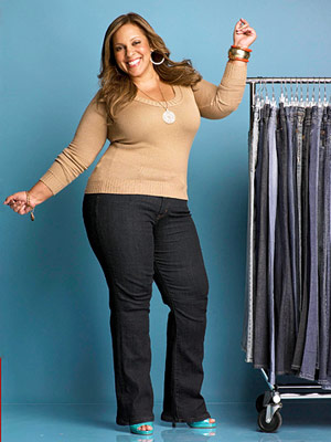 Best Jeans for Plus Size -  After
