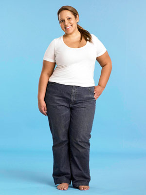 Best Jeans for Plus Size - Before
